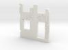 Building wall ruins 1/100 3d printed