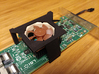 Fan bracket for LSI 9207-8i 3d printed Bracket mounted to HBA with Noctua NF-A4x10 fan