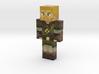 JackHunter4 | Minecraft toy 3d printed
