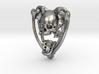 Planchette Bone Pendant 3d printed