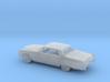 1/87 1966 Cadillac DeVille Sedan Kit 3d printed
