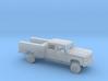 1/87 1991-93 Dodge Ram Crew Cab Utility Bed Kit 3d printed