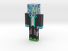 Growing | Minecraft toy 3d printed