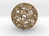 "Icosasphere v2 1.25"" 3d printed"