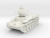 Chi-Ha Tank 1/76 3d printed