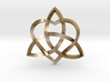 """Infinity Love Pendant   Twisted 1"""" 3d printed"""