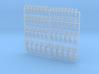 Neptune Spears - Bent & Convex Insignias Set 3d printed