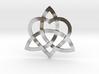 "Infinity Love pendant 1.5"" 3d printed"