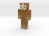 JanTheLama   Minecraft toy 3d printed