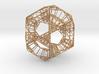 Sierpinski Dodecahedral Prism 3d printed