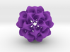 Rhombic Triacontahedron II, medium 3d printed