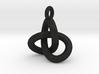 Trefoil Knot Pendant 3d printed