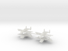 1/700 Two-Seater A-10 Thunderbolt II (Armed) (x4) 3d printed