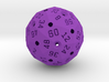 Small Hollow Purple D60 3d printed