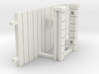 Block Wall - Wooden Vehicle Gate-1 3d printed Part # BWJ-032