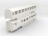 0-87-lner-silver-jubilee-E-F-twin-coach 3d printed