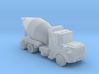 Mack Cement Truck - Z scale 3d printed