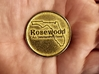 Rosewood: An Interactive History Collectible Coin 3d printed Successful Print (Front)