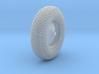Meshed forward left wheel 3d printed