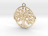 Tree of life and infinite symbol 3d printed