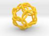 Icosahedral Knot 3d printed
