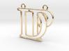 D&P monogram 3d printed