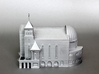 Suseo Cathedral (Unpainted) 3d printed Chrome acrylic painted