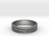 Fish Symbol Design Ring Size 7 3d printed