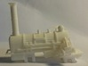 00 Scale Northumbrian Loco Scratch Aid 3d printed WNV as-printed (image kindly supplied by a customer).