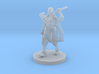 Female Human Barbarian with Hammer 3d printed