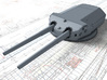 "1/350 Bayern Class 38cm/45 (14.96"") SK L/45 Guns 3d printed 3d render showing product detail"