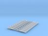 NEM OO Type 16 Couplings - Strait 3 Link x10 3d printed