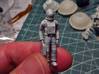 SPACE 2999 1/48 ASTRONAUT TWO SET 3d printed Space 1999 astronaut, cleaned and primed.