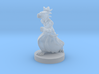 Dragonborn Child Female Running 3d printed