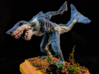 Land Shark 3d printed This is an example  of the piece painted and inserted in a wooden base.