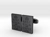 KCCO Cufflink Pairs 3d printed