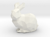 Low Poly Bunny Solid 3d printed