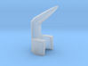 Splatter tip for airbrush large 3d printed