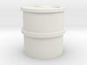 HO Concrete Water Tank 3d printed