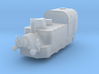 1/160th (N scale) Armoured Steam Locomotive 3d printed