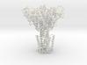 Zinc Ion Transporter, ZntB (ribbon) 3d printed