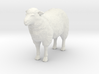 1-20th Scale Sheep 3d printed This is a render not a picture