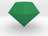 Chaos Emerald Keychain/Pendant Charm 3d printed