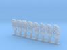 8 venstresporsignaler mm 3d printed