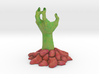 Zombie Hand in Full Colour Sandstone 3d printed