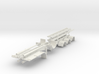 000627 4a Roll on off Trailer HO 3d printed