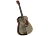 1:18 Scale Acoustic Guitar 3d printed Colorized cutaway showing details inside and out...