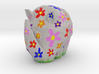 Cammo Rhino - Flowers 3d printed