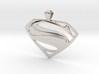 Man Of Steel - Pendant 3d printed
