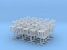 12 Tables et 25 Chaises - 1:87 Ho 3d printed
